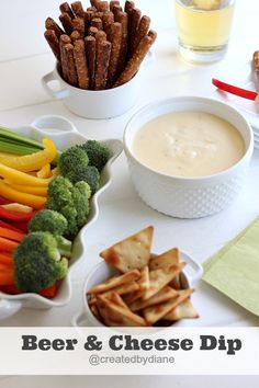 Beer and Cheese Dip   Created by Diane