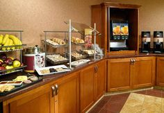 Reserve a rejuvenating stay in Georgia at SpringHill Suites Atlanta Buckhead. Our contemporary hotel offers spacious suites, free breakfast and free Wi-Fi near Brookhaven. Hotel Breakfast Buffet, Breakfast In Bed, Healthy Low Carb Breakfast, Quick And Easy Breakfast, Breakfast Fruit Salad, Continental Breakfast, Atlanta, Buffet Ideas, Holiday Park