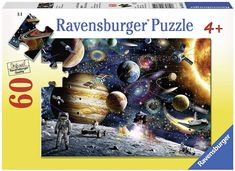 48 Pieces Jigsaw Puzzles Puzzles Artwork Space Universe Outer Space Art for Teen Adult Grown Up Jigsaw Puzzle Toy Educational Games Gift 48 PCS Home Decor Jigsaw Puzzle Toys Games