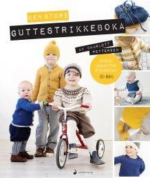 Den store guttestrikkeboka av Charlott Pettersen