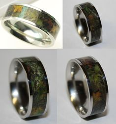 Strong and Special Titanium Wedding Rings