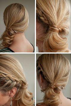 @Julie Forrest Soyars @B R O O K E // W I L L I A M S Springer @Abby Christine Gloria @Jess Liu Wawrzyniak and Cassidy...bridesmaid hair?