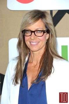 Allison Janney, working some hot frames