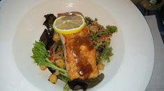 Salmon w/Tabouli Salad