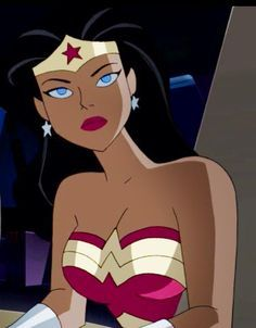 Wonder Woman Justice League Unlimited Cartoon Icons, Cartoon Memes, Girl Cartoon, Cartoon Art, Bruce Timm, Justice League Animated, Batman Wonder Woman, Disney Phone Wallpaper, Nickelodeon