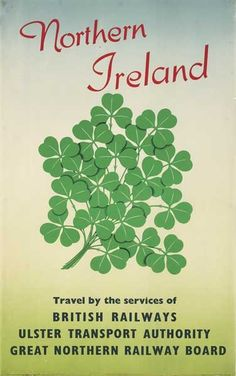 Northern Ireland - Travel by the services of British Railways, Ulster Transport Authority, Great Northern Railway Road - 1954 -