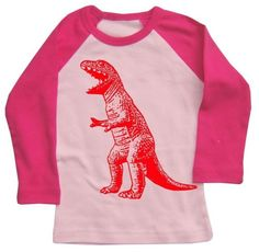 pink + dinosaur: perfect for abby to wear to the party