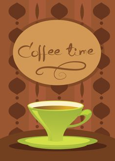 Coffee time vector graphic  available for free download at 4vector.com. Check out our collection of more than 180k free vector graphics for your designs. #design #freebies