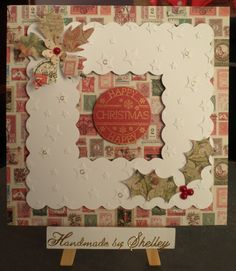 Christmas Post collection and frame by Craftwork Cards.