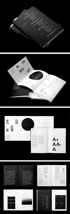 The report needed to be more than a financial brochure, it had to have an editorial and utilitarian feel. #annual report