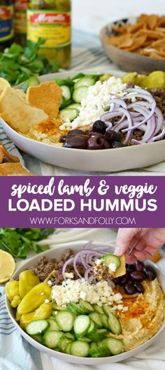 Loaded Hummus with S
