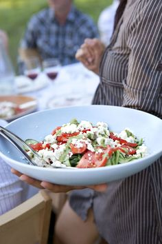 Tomato-Cucumber Salad with Fetacountryliving