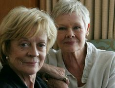 Maggie Smith and Judi Dench #cinema