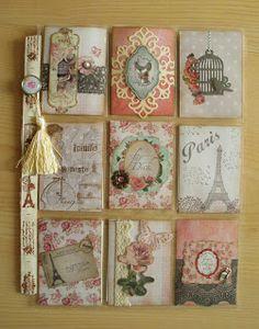 Utes kreative Seite: Pocketletter No. 20 - Vintage Paris
