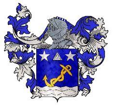 Tout sur l'héraldique : dessin de blasons et d'armoiries: Armoiries de la famille de SAINT-BLAISE