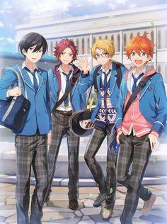 ensemble stars Orange Things w orange kurta Cool Anime Guys, Handsome Anime Guys, Akatsuki, Mystic Messenger, Anime Friendship, Star Character, Ensemble Stars, Manga Boy, Shugo Chara