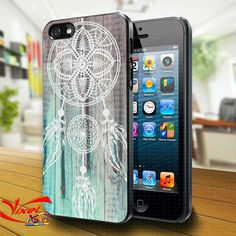Phone Cases – Dream Catcher Wood iphone 4/4S/5 case cover – a unique product by Reyes-Dawn- on DaWanda
