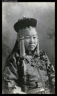 A Mongolian woman; 1905