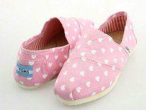 Toms Women Love Dot Pink Shoes