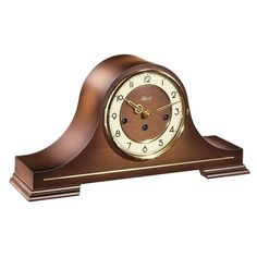 Hermle STEPNEY Table Clock This mantel clock features a mechanical Westminster chime movement and silencing lever. Large Mantel Clocks, Tabletop Clocks, Mantle Clock, Wood Clocks, Antique Clocks, Westminster, Skeleton Clock, Wooden Mantel, Recycled Brick