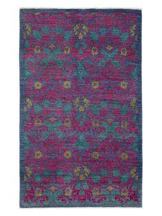 "Arts & Crafts Handmade Rug (7'9""x4'9"") by 16 Elliot Way"