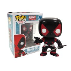 View all of our Pop! Vinyl here on Pop In A Box! Marvel, DC, Disney and more available! Funko Pop Marvel, Funko Pop Deadpool, Funko Pop Figures, Vinyl Figures, Action Figures, Deadpool Character, Funk Pop, Pop Characters, Disney And More
