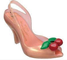saltos designer de moda sandália Melissa Lady sapatos de salto alto de cereja Geléia Shoes dedo aberto bombas mulheres sandálias de verão cores doces 35-40 US $34.00 - 54.00