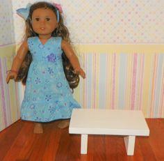 American girl size coffee table