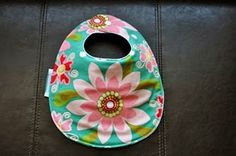 Teal Flowers Drool Bib by SpoonerSistersDesign on Etsy, $10.00 Teal Flowers, Bibs, Baby Shoes, Gift Ideas, Trending Outfits, Unique Jewelry, Handmade Gifts, Beauty, Etsy