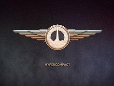 Hypercompact Animated 3D Logotype