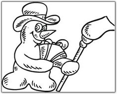 snow (14) Printable - Snow Coloring Pages