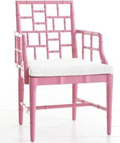 Cute pink chair