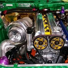 Ocdworks sponsor forrestwang Our billet valve cover and compressor cover machining. One of cleanest engine bay in fd. Mk3 Supra, Toyota Supra Mk4, 2jz Engine, Motor Engine, Tuner Cars, Jdm Cars, Cheap Gas, Race Engines, Japanese Cars