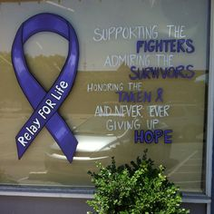 Paint Your Town Purple for Relay For Life in Ripon, CA