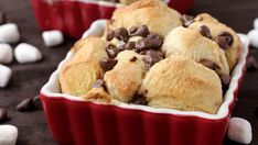 Blogger Brooke McLay from Cheeky Kitchen pairs a campfire treat with a traditional recipe to make this S'mores Monkey Bread.  S'Mores taste even better when served with caramel-kissed Monkey Bread!