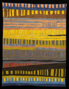 Improvisational row quilt 2012.  From a challenge posted at Twin Cities Quilting