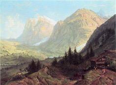 Alpine Landscape // William Trost Richards // 1860