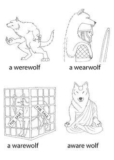 Punny Wolf