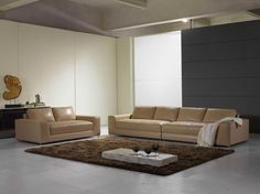 High End Contemporary Sectional Sofa