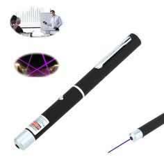 New Hot 5mW Pen Shaped Single Point LED Purple/Red/Green Beam Laser Pointer Pen for Work Teaching Training