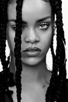 #Portrait de Rihanna for i-D Magazine, Pre-Spring 2015 Photographed by: Paolo…