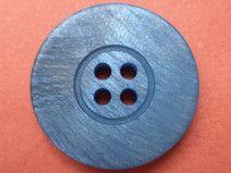 12 KNÖPFE 21mm blau (316-2)