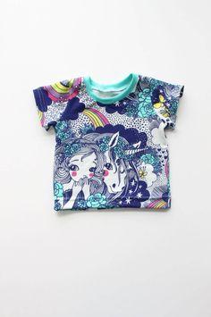 Rainbow Unicorn Tee // Kids Shirt