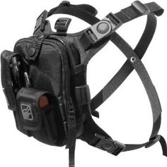 Covert Escape RG(TM) Flashlight/Tools/Camera/GPS/Cycling Chest Pack