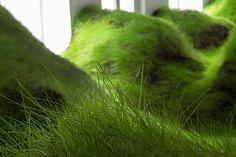 Per Kristian Nygård Not Red But Green Installation