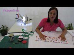 Um saquinho de tecido perfeito para servir de embalagem para um presente! Neste tutorial ensino o modo mais fácil que já encontrei para fazer um. É rápido,si...