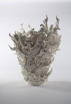 Katsuyo Aoki, beautiful baroque style ornament