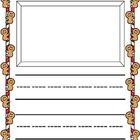 Children will love writing and illustrating their very own stories on this adorable illustrated writing paper. The large, bold lines and spacing is...