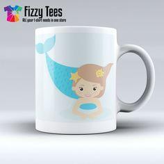 Blue Mermaid | Fizzy Tees
