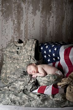 Military baby pictures aww